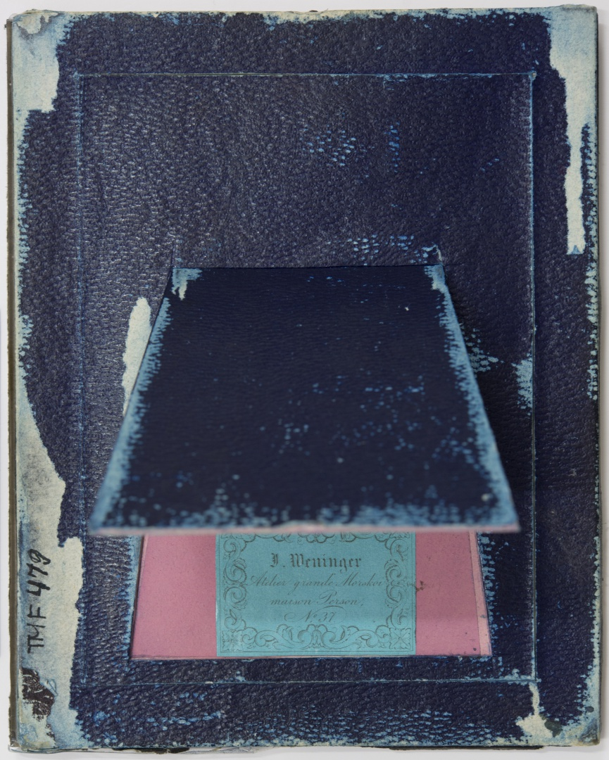ill 2. Formation of the reverse side of a daguerreotype. Tartu Town Museum, TM F 47.