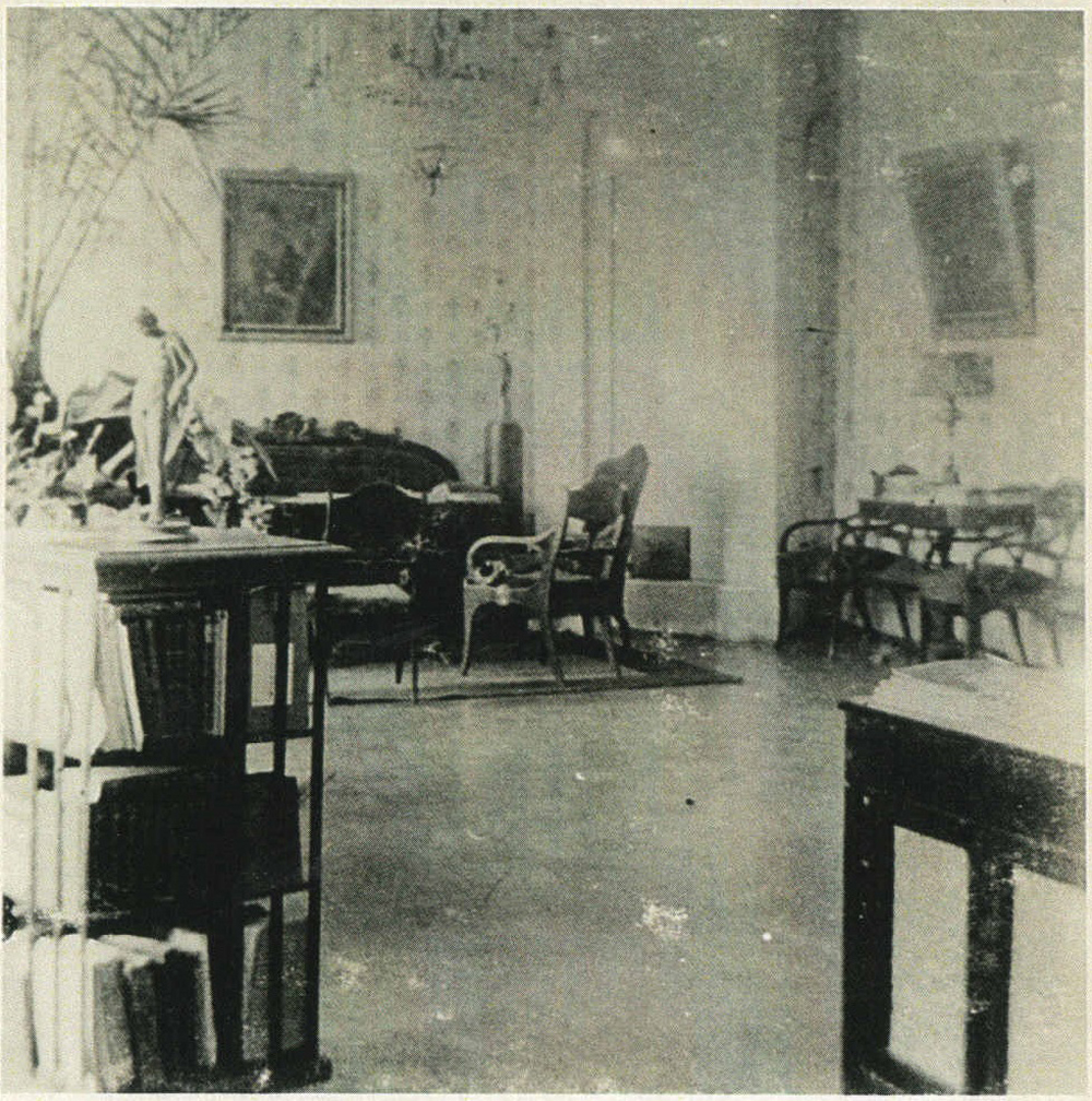 ill 17. The hall with a view of the Blue salon. Photo – private collection.