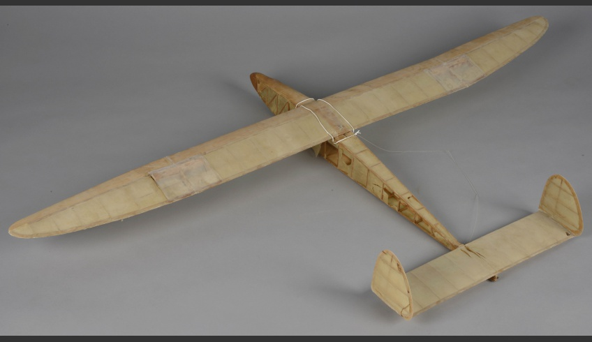 ill 1. Model plane 1 before conservation.103,5 × 171,5 × 16,0 cm