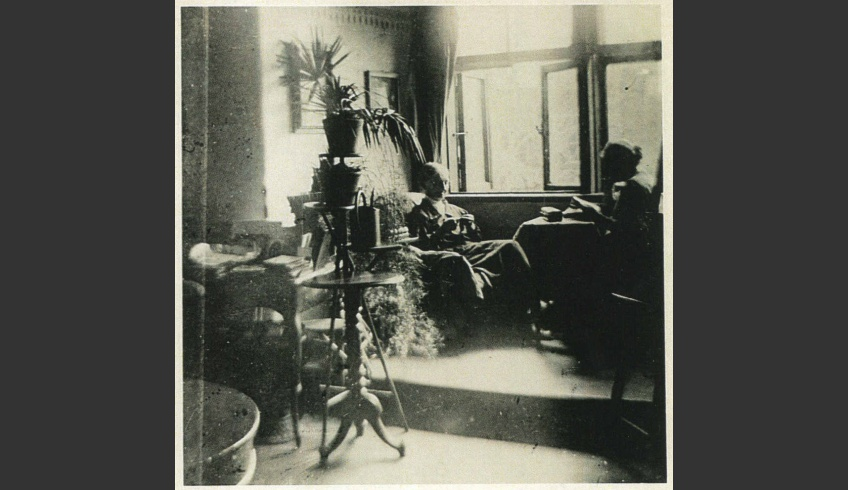 ill 21. Ida von Krüdener in her grandmother's room on the upper (first) storey. Photo – a private collection.